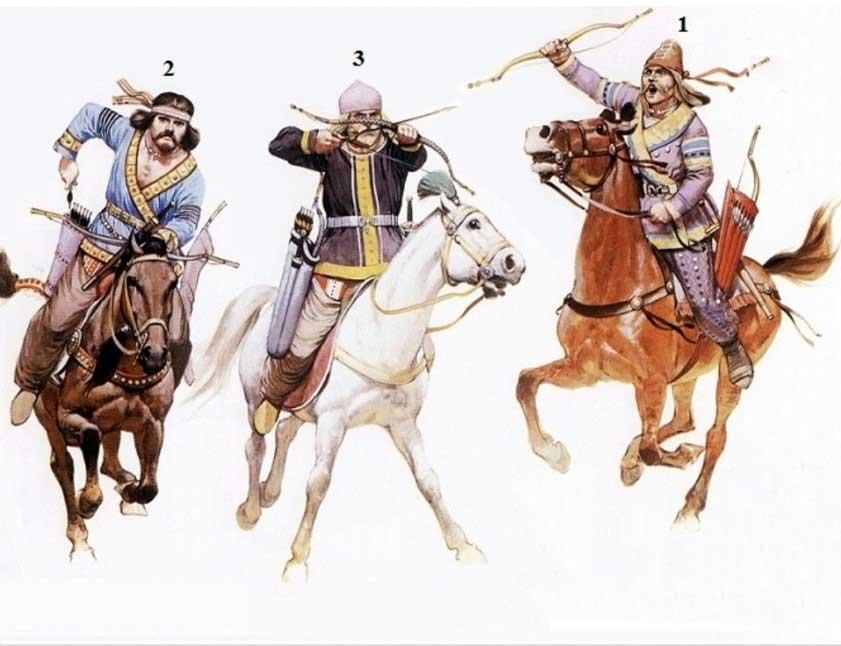 کمانگیری رو اسب سنتی